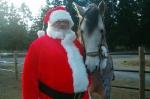 Santa Visits Yelm Farm & Pet