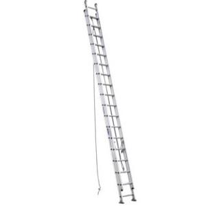 Aluminum D-Rung Extension Ladder - 40 ft.