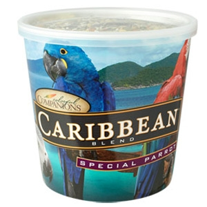 Mazuri® Colorful Companions Caribbean Special Parrot Blend