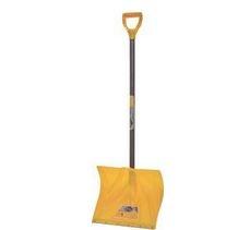 Snow Shovel 18in Poly W/Strip