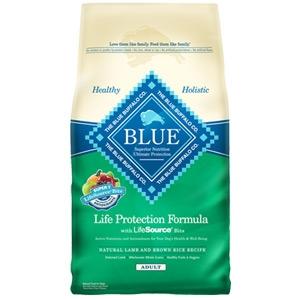 Blue Buffalo Life Protection Formula Adult Lamb & Rice Dog Food 30 lbs