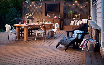 Havana Gold Transcend Decking