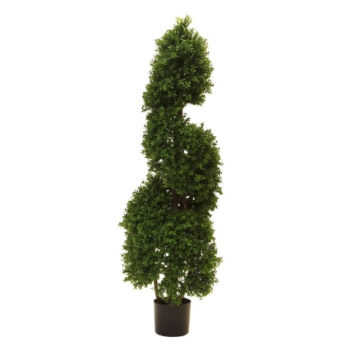 Vickerman 4.5' Bowxood Sprial UV Resistant Tree