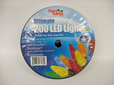 Good Tidings® Ultimate 200 LED C3 Lights