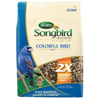 Scott's Songbird Selections, Colorful Bird Food Blend, 4-Lbs.