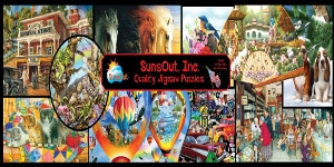 $1.00 Off All SunsOut Jigsaw Puzzles