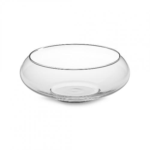 Centerpiece, glass bowl