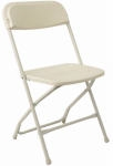 IVORY FOLDING CHAIR
