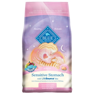 Blue Buffalo Sensitive Stomach Cat Food Ingredients