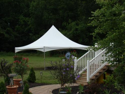 20x20 Festival style Frame Tent (high peak)