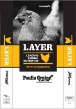 Poulin Grain Layer Crumbles Poultry Feed