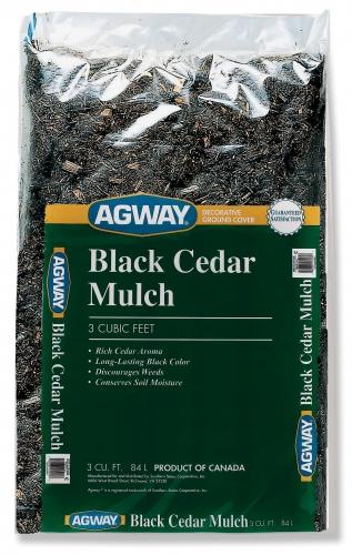 Agway Black Cedar Mulch 3 Cuft