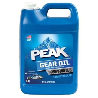 Peak Sae 85w-140 Gl-5 Gear Lubricant Oil Gal