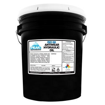Peak Iso68 Antiwear Hydraulic Oil 5 Gal Pail
