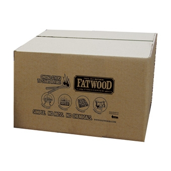 Fatwood Firestarter Bulk Box 25lb