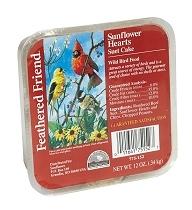 Feathered Friend Sunflower Heart Suet