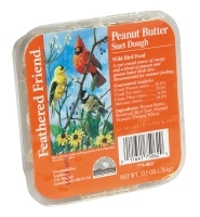 Feathered Friend Suet Dough Peanut Butter