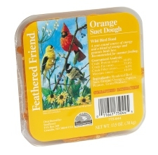 Feathered Friend Suet Dough Orange 13oz
