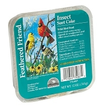 Feathered Friend Suet Insect 12oz