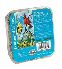 Feathered Friend Mixed Seed Mini Cake 9oz