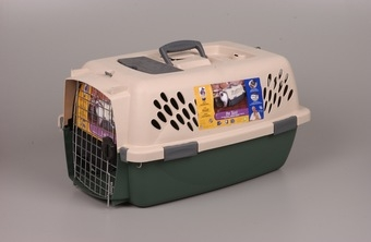 Pet Taxi Sandy/hunter Green Medium