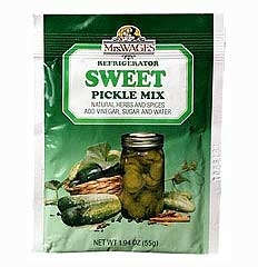 Sweet Refrigerator Pickle Mix 1.94oz