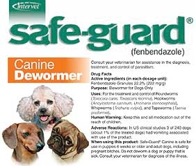 Safe-guard Canine Dewormer 10lb