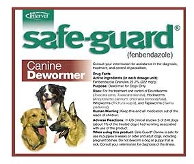 Safe-guard Canine Dewormer 40lb
