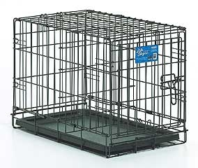 Dog Crate With Pan And Divider