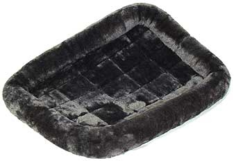 Quiet Time Pet Bed Grey 24in X 18in