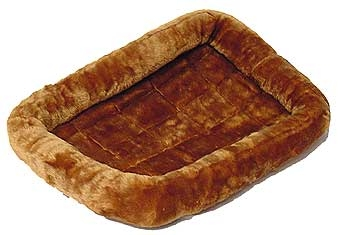 Quiet Time Pet Bed Cinnamon 42in X 26in