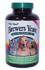 Brewers Yeast 500 Garlic