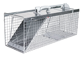 Easy Set And Release Cage Trap 32x12x14