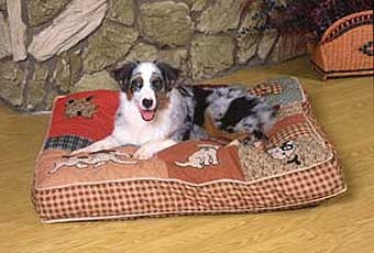 Quilted Pet Bed 40in X 30in