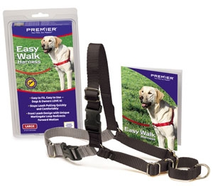 Easy Walk Harness Large Black