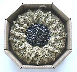 Sunflower Birdie Wreath