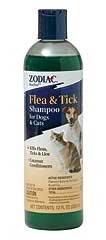 Zodiac Flea And Tick Shampoo 12oz