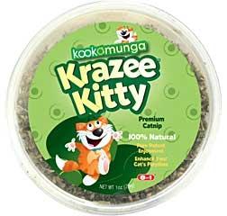 Kookamunga Krazee Kitty Premium Catnip 1oz