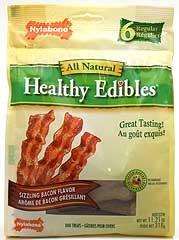 Healthy Edibles Bacon Bone 6pc Regular