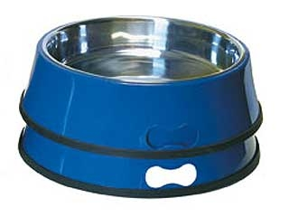 Heated Pet Bowl With Stainless Insert 3qt