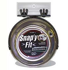 Snappy-fit Pet Bowl 1qt
