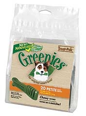 Greenies Treat Pak  Petite 12oz