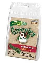 Greenies Mini Treat Pak Regular 6oz