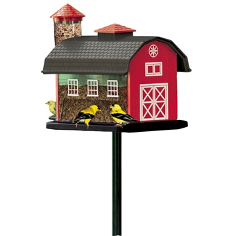 Artline Red Barn Combo Feeder