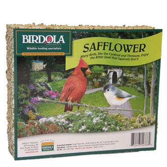 Birdola Safflower Cake Large 2 Lb