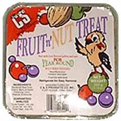 Fruit And Nut Treat Suet 11oz
