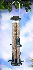 Stokes Select Finch Tube Feeder Verde Vein