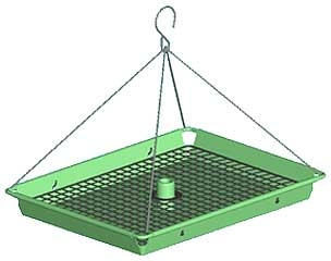 3 In 1 Tray Feeder Verde Vein