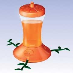 Oriole Hummingbird Plastic Feeder 24oz