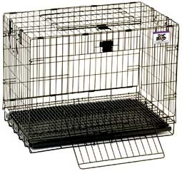 Wire Popup Rabbit Cage 24in